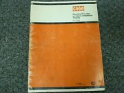 Case 70 Loader For Case And Competitive Tractors Mounting Instruction Manual