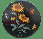 16and039and039 Table Marble Inlay Top Pietra Dura Home Garden Coffee Dining Decor B75