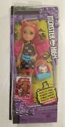 Monster High Clawdeen Wolf Family Doll Howleen Wolf And Pet Cushion Retired Misb