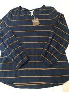 Matilda Jane Clothing Moments With You Tall Maize Top, Women's Large, Nwt