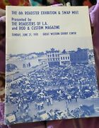 1970 6th Annual L.a. Roadster Exhibition And Swap Meet Official Program 32 Ford