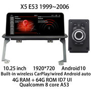 Car Multimedia Player Stereo Gps Radio Android Screen For Bmw X5 E53 19992006