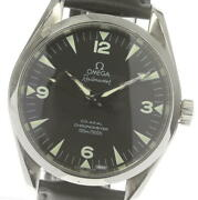 Omega Railmaster 2502.52 Chronometer Black Dial Automatic Menand039s Watch_601575