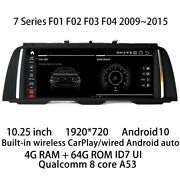 Car Multimedia Player Stereo Gps Radio Android Nbt Cic For Bmw 7 Series F01 F02