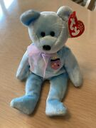 Ty Beanie Baby Eggs 2 The Easter Bear Plush With Tags Retired