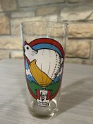 Vintage Kfc Hot Air Balloon Racing Team Colonel Sanders Glass St Louis Mo 1978
