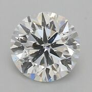 Gia Certified 0.90 Ct Round Cut D I1 Loose Diamond