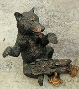 Kitty Cantrell Bear Sculpture Limited Edition 74/500 1996 Bees Honey Genesis