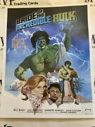 Psa/dna Authentic Lou Ferrigno Signed Bride Of The Incredible Hulk 16x20 Photo