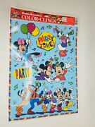 Disney Color Clings Static Window Party Decals - Daisy Duck Donald Mickey Minnie