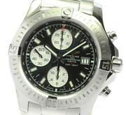 Breitling Colt A13388 Chronograph Blue Dial Automatic Menand039s Watch_590040