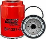 Baldwin Bf1387-o Fuel/water Separator Spin-on With Open Port For Bowl