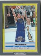 Nba Card 2019-20 Luka Doncic Panini Contenders Optic Front Row Seat Gold 5/10