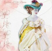Porcelain Capodimonte. Lady A Feet Nude In The Parco. Dress Lace In Porcelain