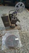 Vintage Keystone E 743 16mm Movie Projector Film W/ Circus Movie 40s For Repair