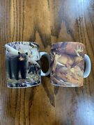 Hayden Lambson Reflective Art The Den Mother And Rousted Coffee Mug Cup 2 Set