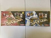 1997-98 Factory Sealed Hobby Boxes Skybox Hoops Series 1 And 2-kobe 2nd Yr Inserts