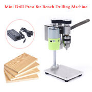 Table Top Electric Power Bench Top Table Hobby Drill Press Small Size Drill Pres