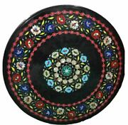 30and039and039 Marble Inlay Table Top Pietra Dura Home Garden Antique Coffee Decor B177