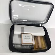Gilchrist And Soames Hotelier Bath Kit, Luxurious Bag And Various Bath Items. 9pcs