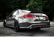 Mercedes-benz E 63 Amg Rear Diffuser E-class W212 S212 Night Package New