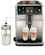 Saeco Sm7683/10 Fully Automatic Coffee Machine 1.7 Liter Water Tank 15 Bar