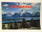 1962 Wyoming Sperry And Hutchinson Sandh Green Stamps Land Of Mountains And Valleys
