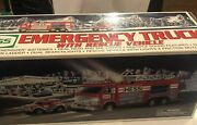 2005 Hess Emergency Truck With Rescue Vehicle, New In Box