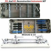 Orthopedic Pcl And Acl Reconstruction Instruments Set By Mesaad