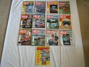 1980 Stock Car Racing Magazine Lot Of 13-complete Year + Speedway Poster Bk 2