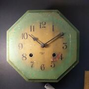 Antique Gilbert Wall Hanging Clock Parts Or Restoration 1920's To 1930's 8 Day