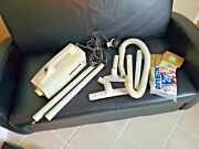 Oreck Xl Vacuum Cleaner Bb870-aw W/ A Lot Of Attachments Shown,plus 5 Bags