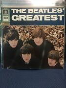 Beatles Greatest Emi Odeon Smo 73991 Red And Gold Label Great Cover And Condition Lp