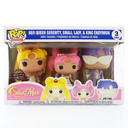 Funko Pop Sailor Moon - 3-pack Neo Queen Serenity Small Lady And King Endymion