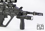 The Original Pup Light Flashlight Mount For Steyr Aug And Microtech Msar Rifles