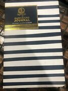 Dl Hard Bound Journal 120 Pages Elastic Closure Ribbon Bookmark