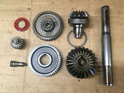 Input Shaft And Gear Set For Bush Hog Hm7 Hm8 Hm9 And Lely Optimo Disc Mowers