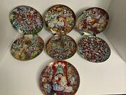 Franklin Mint Bill Bell Limited Edition Cat Collector Plates 7