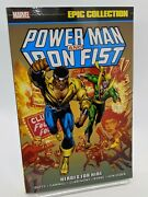 Power Man And Iron Fist Marvel Epic Collection Volume 1 Heroes For Hire