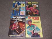 4 1956-58 Roy Rogers Dell Comic Books 100, 116, 119 And 123-western Cowboy
