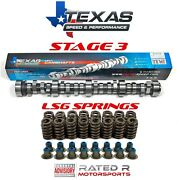 Texas Speed Ls Truck Stage 3 Cam Kit Gm Ls6 Valve Springs And Seals 4.8l 5.3l 6.0l