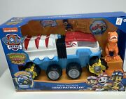 Paw Patrol Dino Rescue Dino Patroller Motorized Team Vehicle Chase And T-rex A