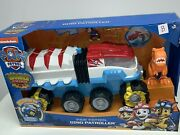 Paw Patrol Dino Rescue Dino Patroller Motorized Team Vehicle Chase And T-rex B