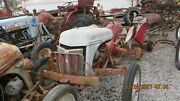 Ford 8n Tractor With Side Mount Distributor Rear Tires And Wheels Missing