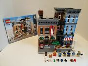 Lego Official Detective's Office Modular Building 10246 Complete W/ Manual