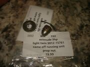 Evinrude 3hp Light Twin Prop Nut Outboard Boat Motor Part B 722
