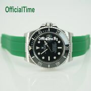 Ot Ak End Link And 20/16 Honeycomb Rubber Strap Fit Rolex Submariner 116610 16610