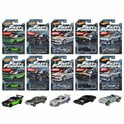 Hot Wheels Entertainment Assorted - The Fast And The Furious Minicar X1