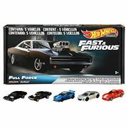 Hot Wheels The Fast And The Furious Premium Box Full Force Grm15