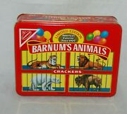 1989 Barnumand039s Animal Crackers National Biscuit Company Nabisco Tin Limited Ed.